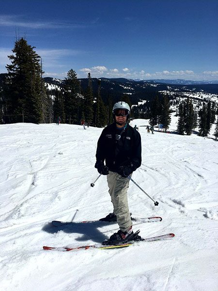 #BeActive skiing in Colorado. Top hand surgeon in Colorado