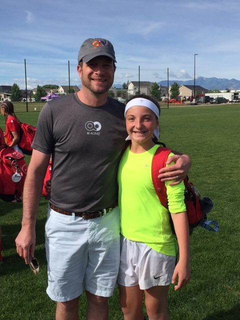 #BeActive playing soccer. Dr. Keith Jacobson one of Parker's top pediatric surgeons