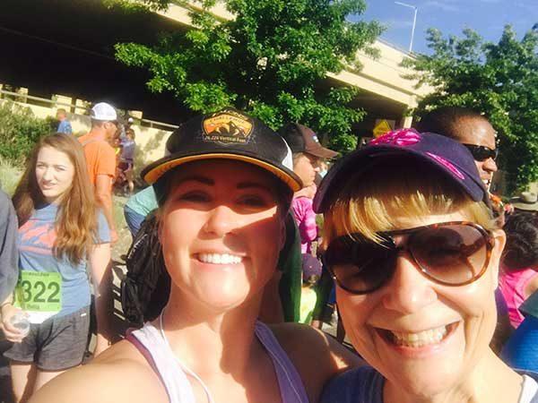 #BeActive at the BoulderBoulder Marathon in Boulder, CO