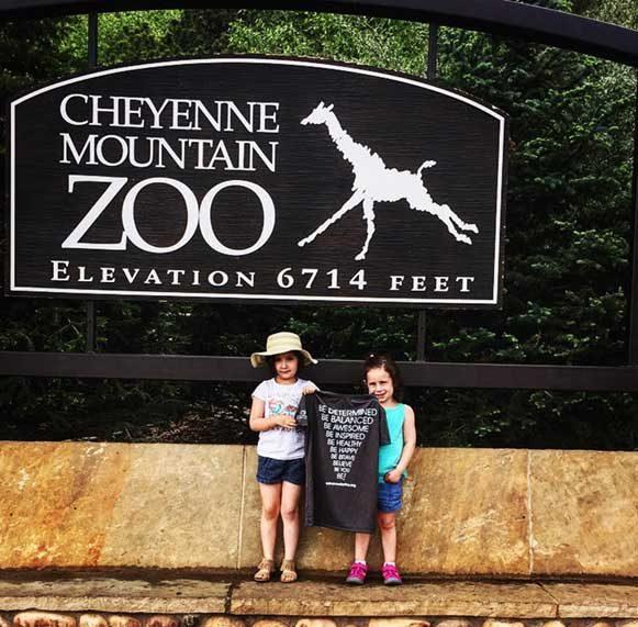 #BeActive at the Cheyenne Mountain Zoo