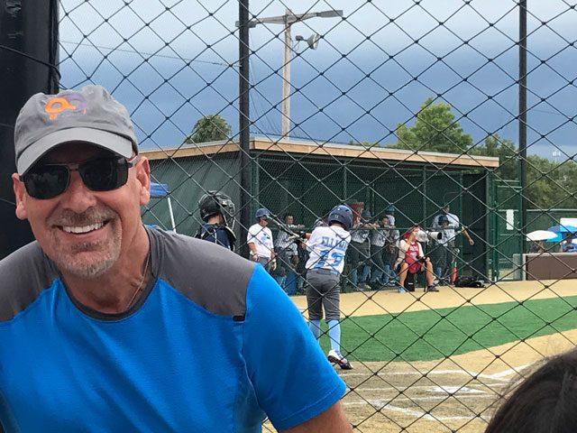 #BeActive at little league - Dr. John Papilion
