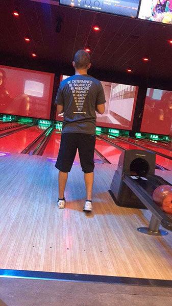 #BeActive bowling