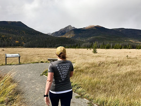 #BeActive in Rocky Mountain National Park
