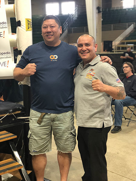 #BeActive at Muay Thail tournament in Denver, CO, Dr. Alan Ng, Foot and Ankle specialists
