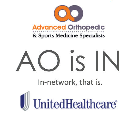 United Healthcare working with Advanced Ortho